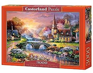 Castorland Peaceful Reflections 3000 pcs Puzzle - Rompecabezas (Puzzle Rompecabezas, Hada, Niños y Adultos, Niño/niña, 9 año(s), Interior)