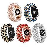 For Armbanduhr 38mm Band, vanqiang Luxus Persönlichkeit Herren und Damen Neue Kette Schmuck Armband Smart Uhrenarmband für iiWatch 38mm–weiß, Polykarbonat, weiß, iWatch 38MM