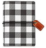 "Webster's Pages Color Crush Pocket Traveler's Planner 4.25""X6""-Buffalo Plaid"