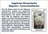Angelinas 40 mystische Beginner - Lenormandkarten: incl. Deutungstexten auf den Karten