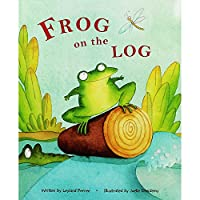 American Greetings Frog On The Log