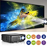 Smart Android Wireless HD Projector- 1280x800 Native 4200 Lumen HDMI & WiFi Connectivity