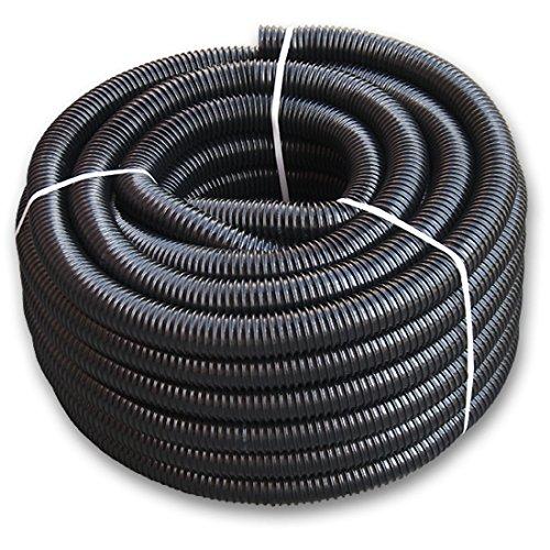 30m Saugschlauch für Industrie und Landwirtschaft aus PVC spiralschlauch flexibler Schlauch Teichschlauch Marke FITT 40mm 1 1/2