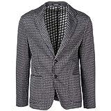 Emporio Armani Herren Herrenjacke Jacke Blazer Grau EU 50 (UK 40) 11G87S11S41