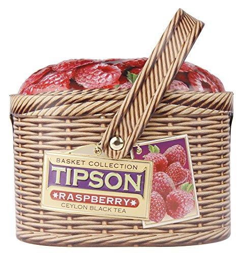 Basilur Ceylon Schwarztee Tipson Basket Raspberry Tee Geschenkset Geschenkideen