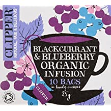Clipper Teas - Blackcurrant & Blueberry Organic Infusion - 10 Bags