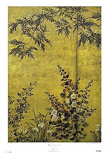 Sosetsu – Mimosa Bäume und Blumen Poster Drucken (66,04 x 91,44 cm)