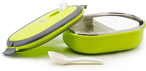 celebrationgift Vacuum Tiffin Box - 900Ml Inner Stainless Steel - Green