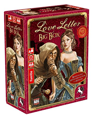 Pegasus Spiele 18214G - Love Letter Big Box