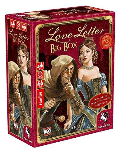 Seine 8-erweiterungen (Pegasus Spiele 18214G - Love Letter Big Box)