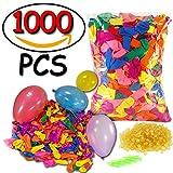 Magic Wasserbomb (1000 bunt wasser luftballons), Wasserbomben Spielzeug 100 Water Balloons in 60 Sekunden, Bunch A Balloons Wasserbomben Set für Water Bomb Game und Wasserschlacht VOOA