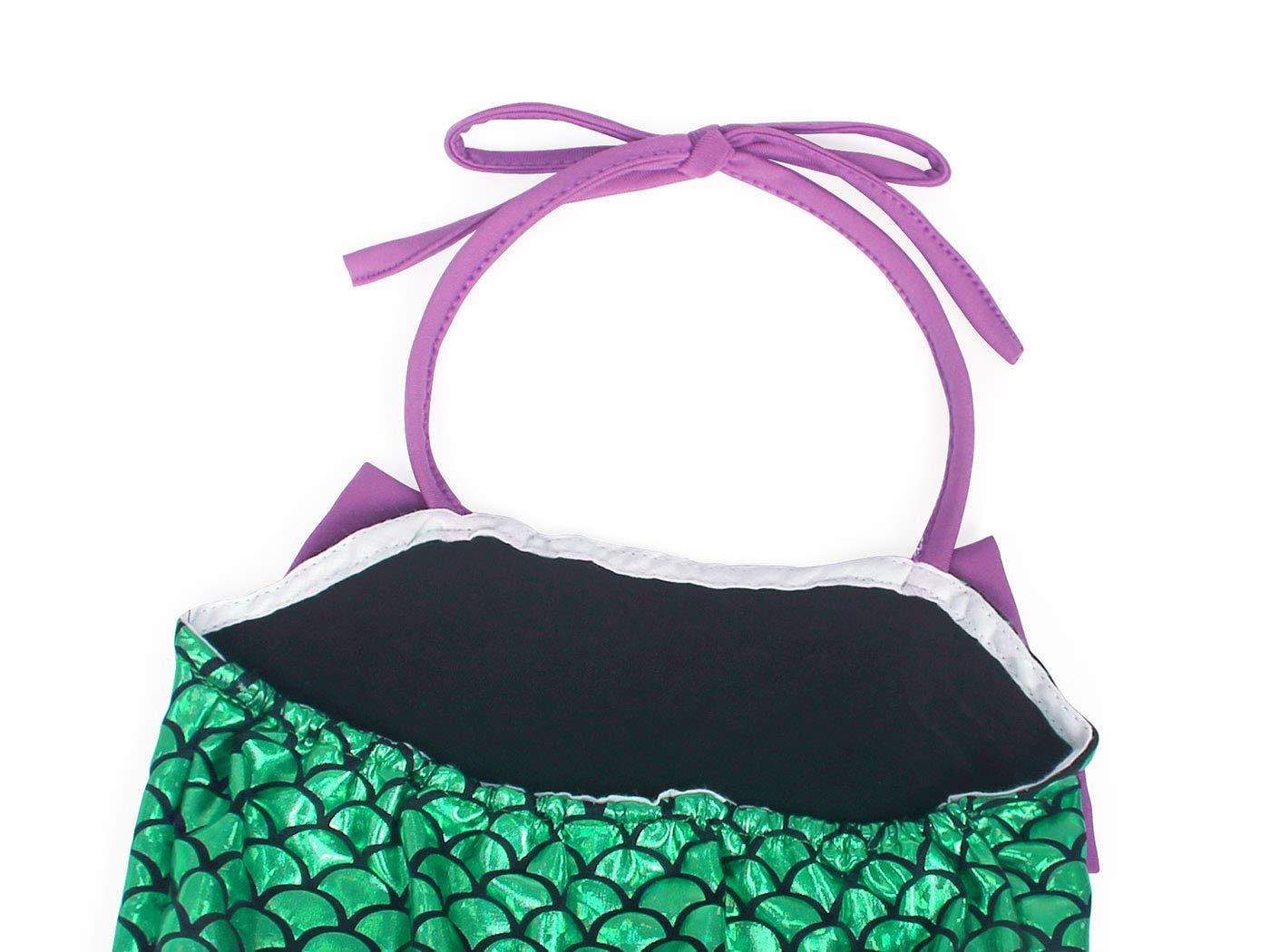 AmzBarley Costume della Sirenetta Vestito vestirsi Ragazza Bambina Coda di Pesce Costumi di Halloween Vestiti Compleanno… 5 spesavip