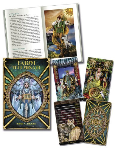 Tarot Illuminati [With Book(s)] by Dunne, Erik C., Huggens, Kim (May 8, 2013) Cards