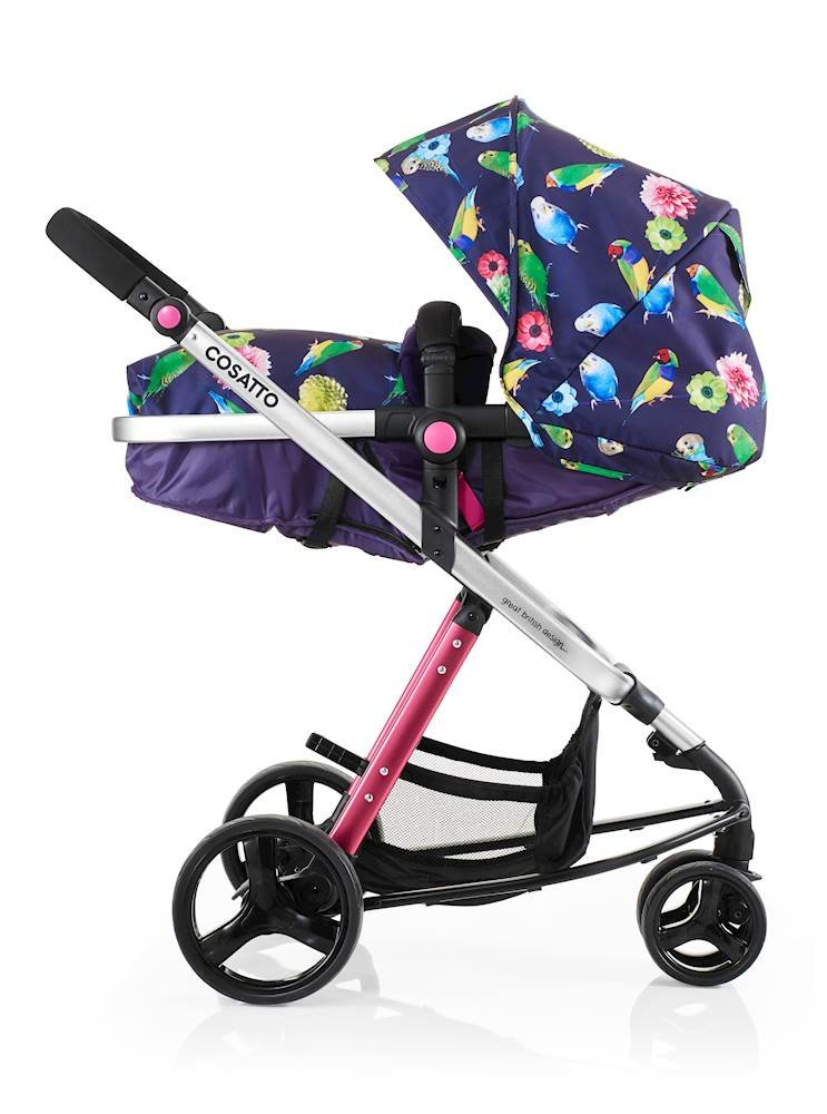 Cosatto Woop Pushchair, Suitable from Birth to 15 kg, Eden Cosatto  1