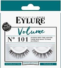 Eylure Volume No. 101 Pre-Glued, 1er Pack (1 x 2 Stück)
