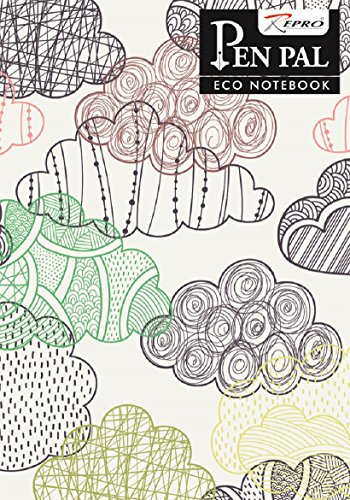 PenPal Eco Notebook - 210 x 297 mm, Soft cover, 240 Pages, Single Line - Pack of 4