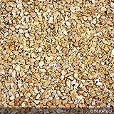 Steinteppich Marmorkies für 2qm | BEKATEQ BK-600EP Bodenbelag Bodenbeschichtung (25KG Marmorkies + 1,5KG Bindemittel, Beige - Giallo Mori)