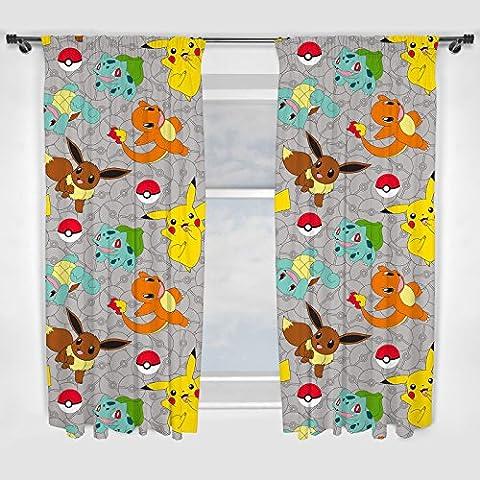 Pokemon Catch '137cm Vorhang (Biancheria Oak Bed)