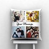 DREAMVIO Microfiber Cushions, 12x12 Inches, Multicolour, Pack of 1