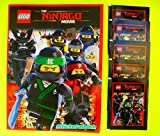 Blue Ocean - The LEGO Ninjago Movie 2017 Sammelalbum + 5 Booster Packungen Sammelsticker 25 Sticker - Deutsche Ausgabe