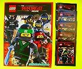 Blue Ocean - The LEGO Ninjago Movie 2017 Sammelalbum + 5 Booster Packungen Sammelsticker 25 Sticker - Deutsche Ausgabe