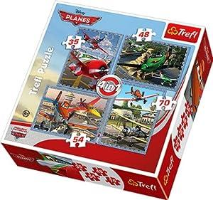 TREFL - Puzzle Aviones Disney Aviones de 54 Piezas (28x28 cm) (34205)