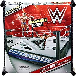 SMACKDOWN ENERGIA - UFFICIALE WWE WRESTLING Anello per MATTEL ACTION FIGURES