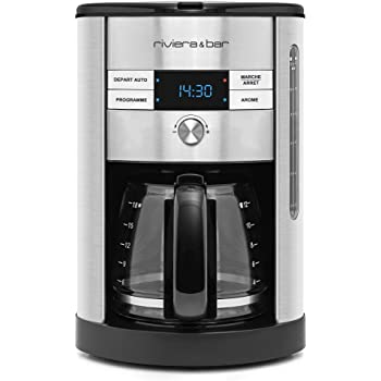 Klarstein Soulmate • Machine à café • Cafetière filtre 10 tasses ... 9836be587b1a