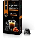 King Cup - 1 Paquet de 10 Capsules de Café Expresso aux Caramel, 10 Capsules 100% Compatible avec le Système Nespresso de Boi