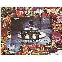 I Beatles sul palco imperforate foglio di francobolli in miniatura - 2013 / 750F / Congo