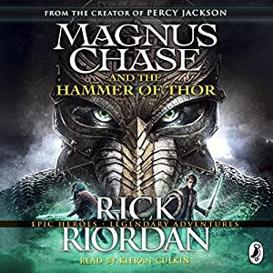 magnus chase and the hammer of thor audio download amazon co uk