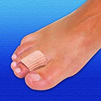 Silipos Corn Pads   x6   Soft & Stretchable Pressure Relief   Moisturising Mineral Gel for Toes or Fingers   Medium