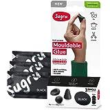 Sugru Family-Safe Formula Vormbare lijm: retail 3-pack (Zwart) / retail-packaged