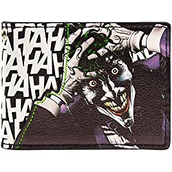 Cartera de DC Comics Batman Joker Púrpura