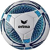ERIMA 7192005 Senzor trainingsvoetbal voor volwassenen, New Navy/Fiery Coral, 4