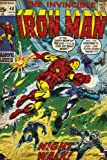 Children's Maxi Poster featuring a Vintage Marvel Iron Man Comic Book Cover 61x91.5cm