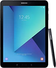 Samsung Galaxy Tab S3 T820 24,58 cm (9,68 Zoll) Touchscreen Tablet PC (Quad Core 4GB RAM 32GB eMMC Wifi Android 7,0) Schwarz inkl S Pen