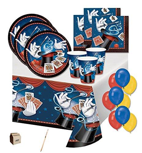 Irpot - kit n 4 coordinato tavola magic party mago