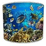 Premier Lighting 12 Inch Marine Aquarium Fish Lampenschirme5 Für eine Tischlampe