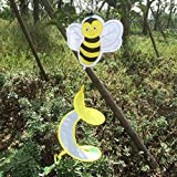 #8: Generic Colorful Animal Insect Spiral Rotating Windmill Wind Strip Spinner Lawn Garden Yard Outdoor Decor Gift