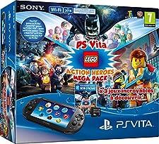 PlayStation Vita - Consola + Megapack Lego Heroes+ 8 GB Memory Card #9644