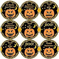 144 Halloween Pumpkins 30mm Children