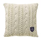 Tommy Hilfiger Home Rope Cushion Cover 40x40cm, Ivory