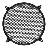 TOOGOO Cubierta de Amplificador de Altavoz de Rejilla de subgraves Grill Mesh Car - 10 Pulgadas