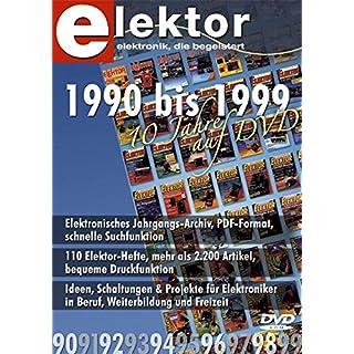 Elektor-DVD 1990-1999: Alle Artikel der 90er-Jahre auf DVD