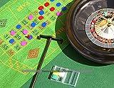 Roulette & Blackjack eingestellt - 40cm. Rad