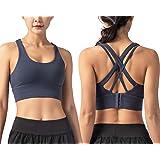 CALHOUN Sport-BHS für Damen,Wohlfühl BH Sports Bra Push Up Sportweste Top Bustier Einfache Mode Workout Yoga Fitness Jogging