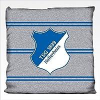 TSG / 1899 Hoffenheim Kissen Doppelstreifen Grau