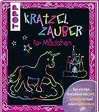 Kratzelzauber für Mädchen: Der einzige Kratzblock mit Stift, Schablonen und tollen Bastelideen - frechverlag