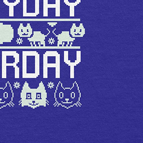 Texlab Everyday Caturday - Damen T-Shirt Marine